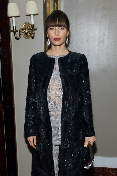 More Pics of Jessica Biel Sequined Jacket (1 of 5) - Sequined Jacket Lookbook - StyleBistro
