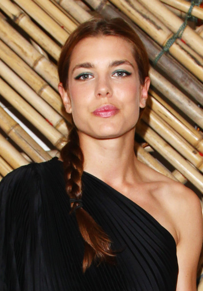 More Pics of Charlotte Casiraghi Long Braided Hairstyle (1 of 18) - Charlotte Casiraghi Lookbook - StyleBistro