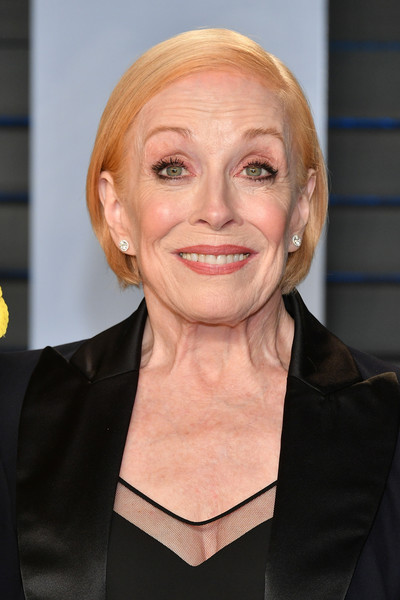 Holland Taylor Bob [oscar party,vanity fair,hair,face,hairstyle,eyebrow,head,blond,chin,cheek,forehead,smile,beverly hills,california,wallis annenberg center for the performing arts,radhika jones - arrivals,radhika jones,holland taylor]