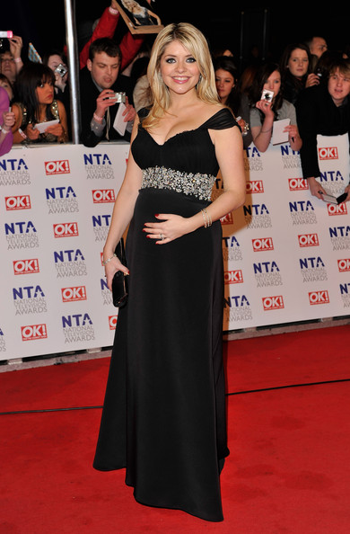 Holly Willoughby Maternity Dress