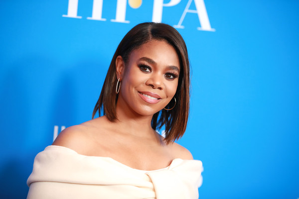 Regina Hall kept it classic with this side-parted lob at the 2019 HFPA Grants Banquet.