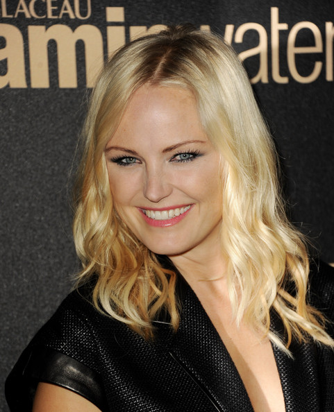 More Pics of Malin Akerman Medium Curls (1 of 5) - Shoulder Length Hairstyles Lookbook - StyleBistro