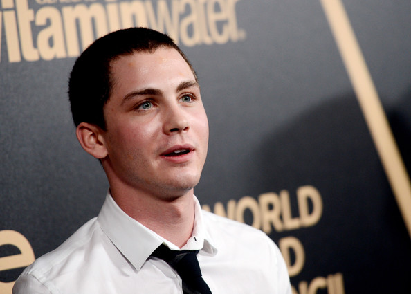 More Pics of Logan Lerman Buzzcut (3 of 7) - Hair Lookbook - StyleBistro
