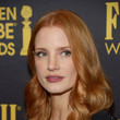 Jessica Chastain's Romantic Curls