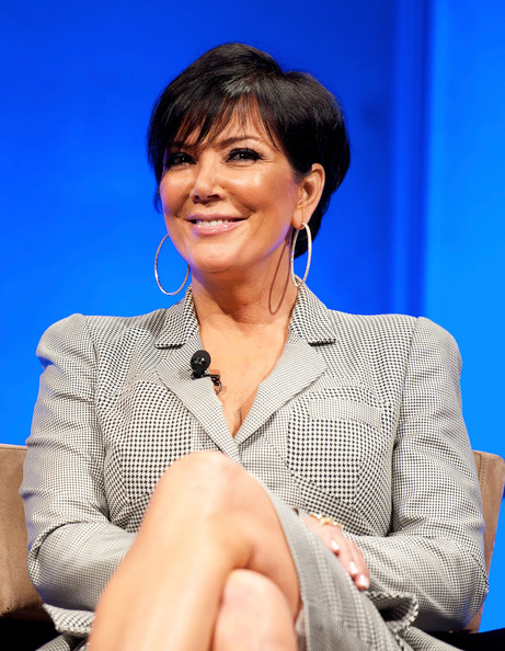 More Pics of Kris Jenner Short Cut With Bangs (1 of 19) - Kris Jenner Lookbook - StyleBistro