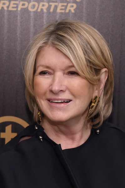 Martha Stewart sported a bob at the 2016 35 Most Powerful People in Media event.