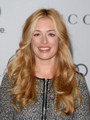 Cat Deeley wore a sweet wavy 'do at the Women in Entertainment Breakfast.