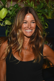 Kelly Bensimon looked beach-chic with her long wavy 'do and tanned complexion at the Hollywood Reporter's 35 Most Powerful People in Media.