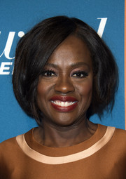 Viola Davis worked a high-volume bob at the Hollywood Reporter 5th Annual Nominees Night.