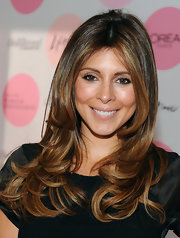 Jaime-Lynn Siegler showed off her perfectly layered long locks while attending the Women in Entertainment breakfast.
