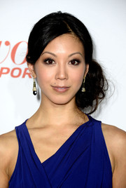 Brittany Ishibashi glammed it up at the Hollywood Reporter Emmy party with her lovely side-swept curls.