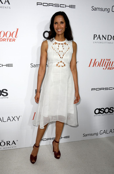 More Pics of Padma Lakshmi Platform Sandals (1 of 3) - Platform Sandals Lookbook - StyleBistro