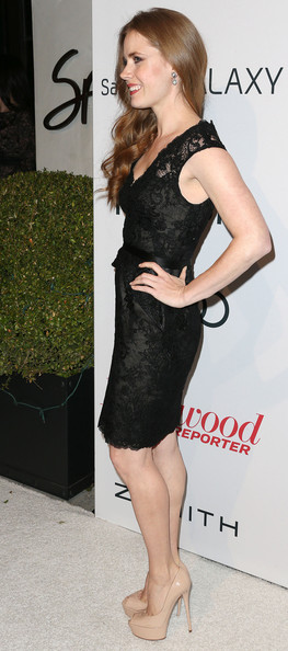 More Pics of Amy Adams Little Black Dress (1 of 14) - Amy Adams Lookbook - StyleBistro