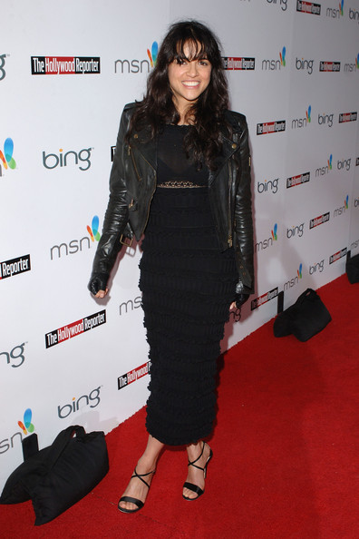 More Pics of Michelle Rodriguez Evening Sandals (1 of 6) - Michelle Rodriguez Lookbook - StyleBistro