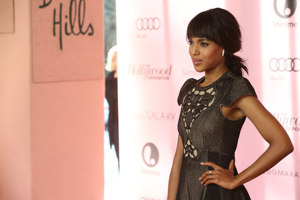 More Pics of Kerry Washington Lipgloss (1 of 8) - Kerry Washington Lookbook - StyleBistro