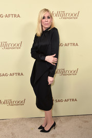Judith Light donned a simple long-sleeve LBD for the Hollywood Reporter and SAG-AFTRA Emmy nominees night.