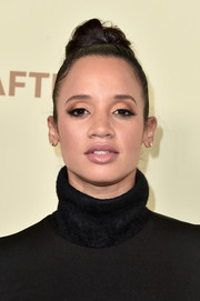 Dascha Polanco sported an edgy top knot at the Hollywood Reporter and SAG-AFTRA Emmy nominees night.