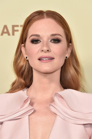 Sarah Drew showed off a stylish center-parted 'do at the Hollywood Reporter and SAG-AFTRA Emmy nominees night.