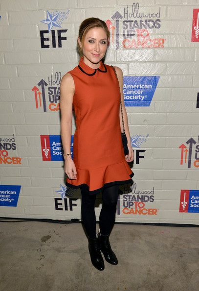 More Pics of Sasha Alexander Mid-Calf Boots (1 of 7) - Sasha Alexander Lookbook - StyleBistro
