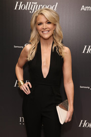 Megyn Kelly accessorized with an edgy-chic gold cuff bracelet to the 35 Most Powerful People in Media celebration.