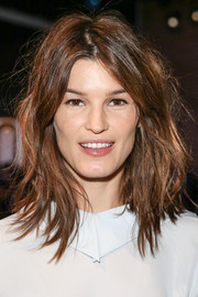 Hanneli Mustaparta made messy hair look so cool when she wore this layered cut at the Honor fashion show.