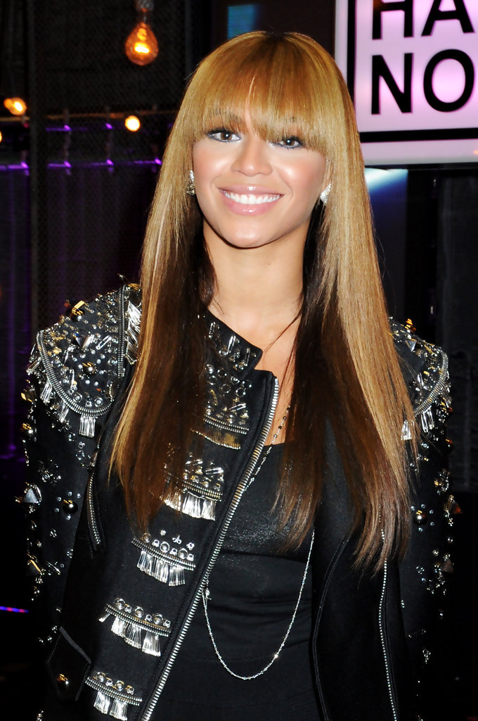 In this handout photo provided by MTV, Beyonce Knowles attends the Hope For Haiti Now concert, a global benefit for earthquake relief, at The Hospital Club on January 22, 2010 in London, England.