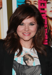Tiffani Thiessen looked hip at the 'Horrible Bosses' screening with this shoulder-length layered cut.