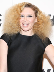Natasha Lyonne got a little playful with her look, sporting these mega-volume frizzy curls at the '#Horror' New York premiere.