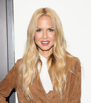 Rachel Zoe sported her signature boho 'do at the House of Gant presentation.