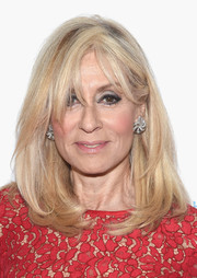 Judith Light wore a classic face-framing lob with wispy bangs at the Housing Works Groundbreaker Awards.