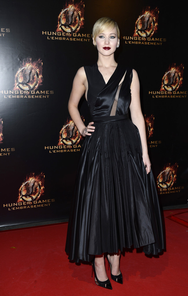 'The Hunger Games: Catching Fire' Premieres in Paris