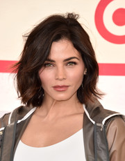Jenna Dewan-Tatum looked cool and stylish with her tousled bob at the Hunter for Target Ultimate Family Festival.