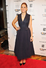 Marion looked exquisite in her collared tee-length dress at the Gotham Independent Film Awards.
