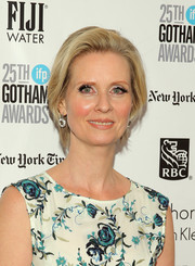 Cynthia Nixon attended the Gotham Independent Film Awards wearing her hair in a neat bob.