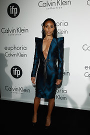Jada Pinkett Smith can never be accused of unadventurous style with looks like this one.