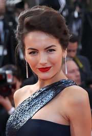 Camilla Belle looked as stunning as always while walking the red carpet at the Cannes Film Festival.