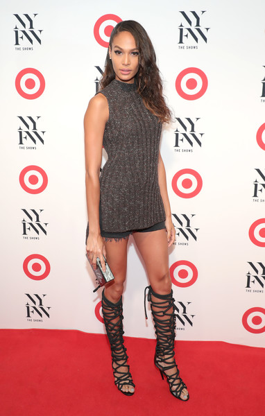 Joan Smalls at Target + IMG New York Fashion Week Kick-Off Event