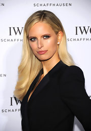 Karolina Kurkova looked stunning at 'For the Love of Cinema' in NYC where she kept her golden locks looking shiny and sleek.