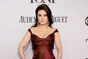 Idina Menzel Off-the-Shoulder Dress