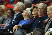 Laura Bush and George W Bush Photo