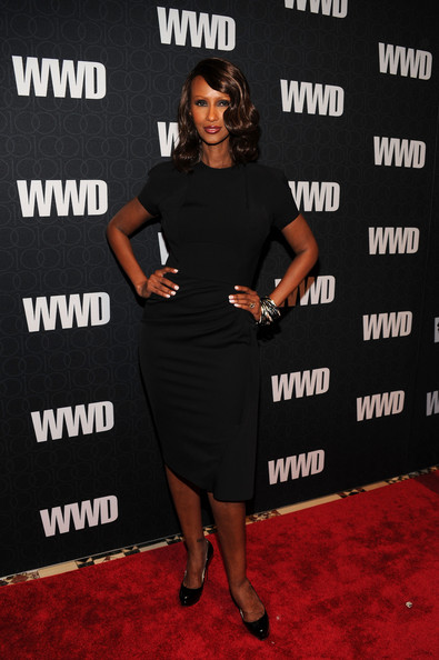 Iman Little Black Dress