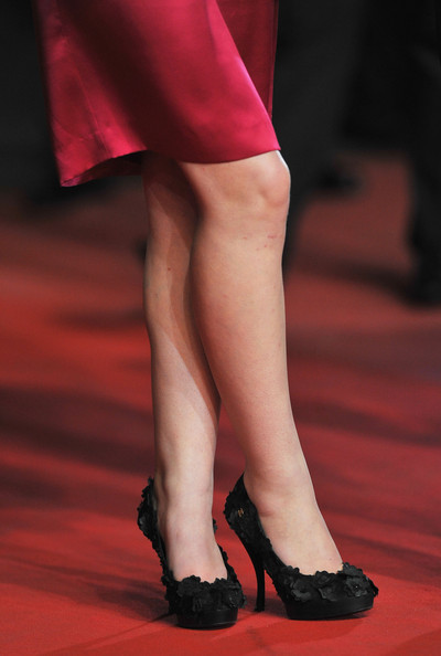 Imogen Poots Platform Pumps [chatroom - premiere,human leg,leg,red,thigh,footwear,fashion,calf,joint,high heels,ankle,imogen poots,shoe detail,cannes,france,cannes film festival,chatroom premiere,palais des festivals,annual cannes film festival]