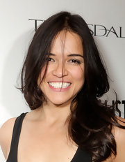 Michelle Rodriguez sported a messy-glam wavy 'do at 'The Imperialists are Still Alive!' after-party.