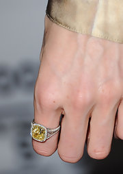 Lily Cole accessorized with a stunning gemstone ring when she attended the 2011 Toronto International Film Festival.