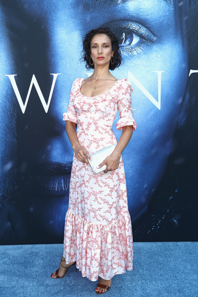 Indira Varma Metallic Clutch