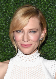 Cate Blanchett looked as elegant as ever wearing this loose chignon at the screening of 'Truth.'