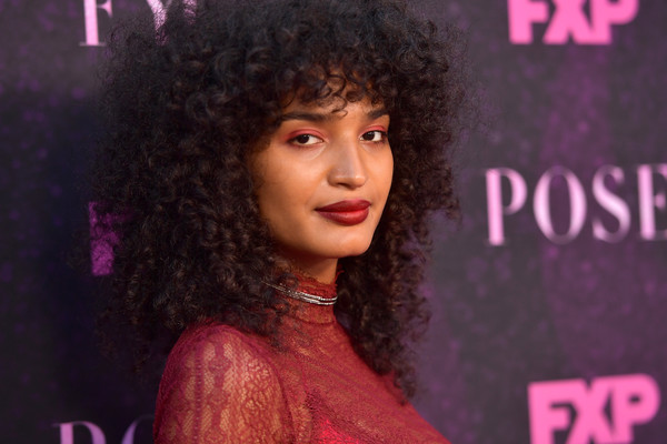 Indya Moore Medium Curls