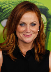 Amy Poehler topped off her look with piecey waves when she attended the Australian premiere of 'Inside Out.'