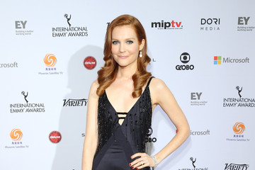 Look of the Day: Darby Stanchfield's Beaded Gown