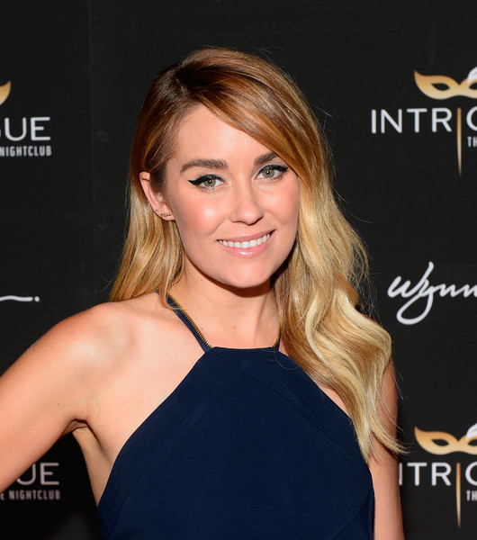Lauren Conrad sported a boho-glam wavy 'do at the Intrigue Nightclub grand opening.